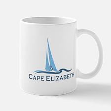 Cape Elizabeth ME - Sailing Design. Mug