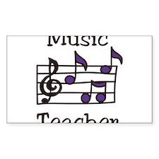 Music Teacher Decal