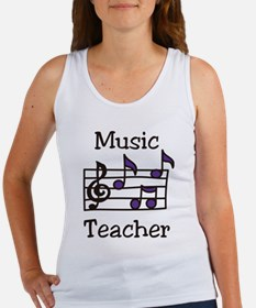 Music Teacher Women's Tank Top