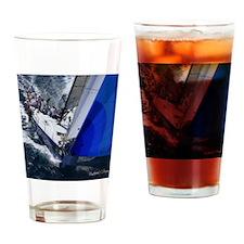 St. Thomas Racing Drinking Glass