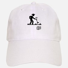 Metal Detecting Baseball Baseball Cap