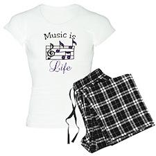 Music Is Life Pajamas
