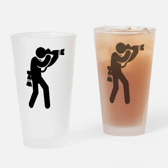 Photography Drinking Glass