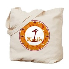 Monster 1 Month Milestone Tote Bag