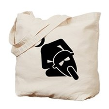 Pocket Bike Tote Bag