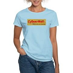 CyBeerMall.com Women's Pink T-Shirt