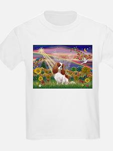 Autumn Angel & Blenheim T-Shirt