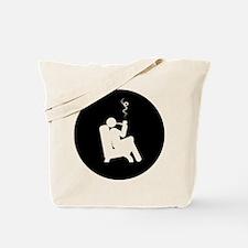 Pipe Smoking Tote Bag