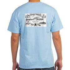 Dachau - Never Again T-Shirt