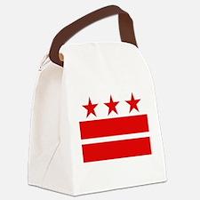 3 Stars 2 Bars Canvas Lunch Bag