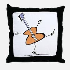 Throw Pillow Guitar