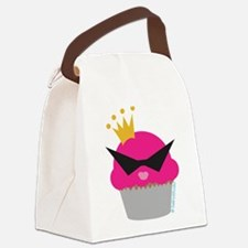 cupcake queen.png Canvas Lunch Bag