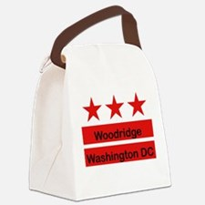 dc flag trans_woodridge_png.png Canvas Lunch Bag