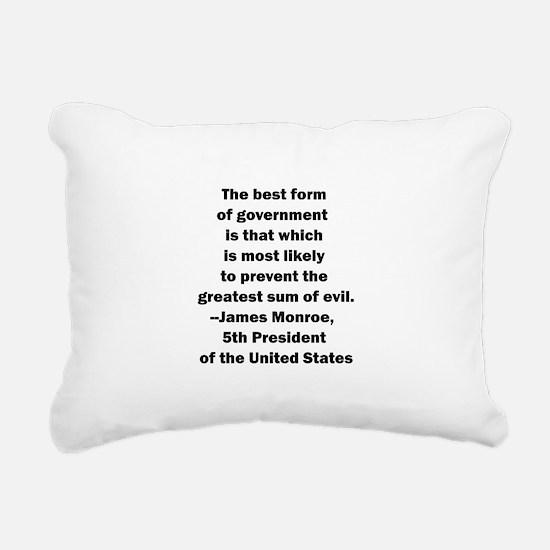Monroe std.png Rectangular Canvas Pillow