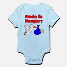 Made In Hungary Boy Infant Bodysuit