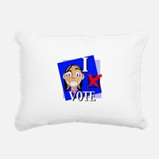 ivote4.gif Rectangular Canvas Pillow