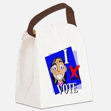 ivote4.gif Canvas Lunch Bag