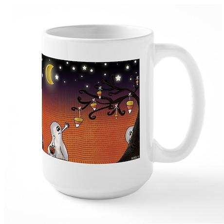 Trick or Treat Large Mug