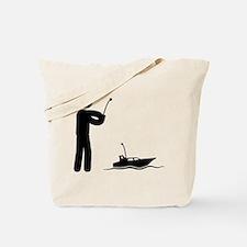 RC Boat Tote Bag