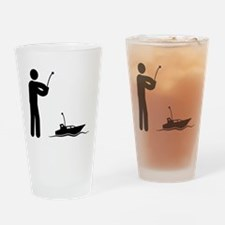 RC Boat Drinking Glass