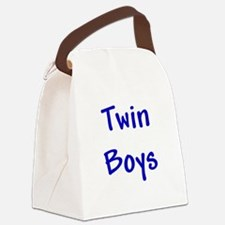 twin_boys_blue.png Canvas Lunch Bag