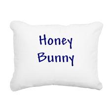 honeybunny_blue.png Rectangular Canvas Pillow