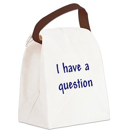 bumper_question.png Canvas Lunch Bag