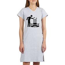 Sand Castle Building Women's Nightshirt