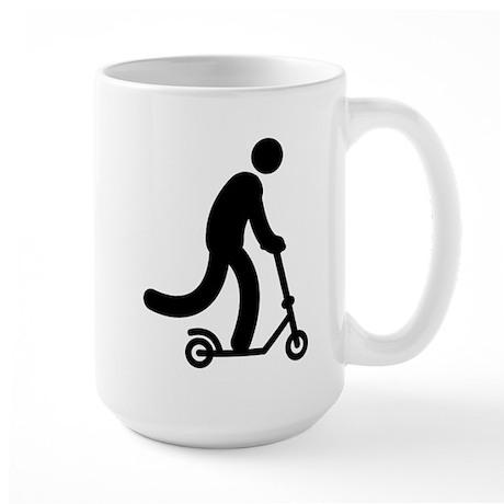 Scooter Large Mug