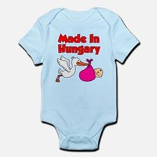 Made In Hungary Girl Infant Bodysuit