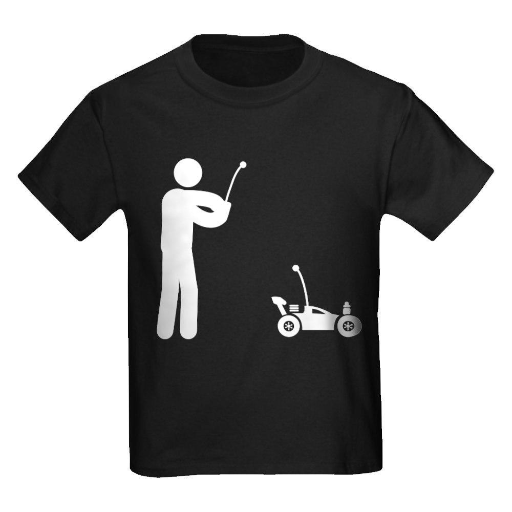 CafePress RC Car Kids Dark T Shirt Kids Cotton T-shirt 732172406