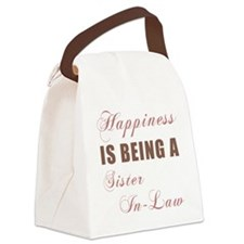 Sister-In-Law (Happiness) Canvas Lunch Bag