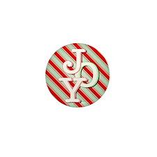JOY on stripes Mini Button (10 pack)