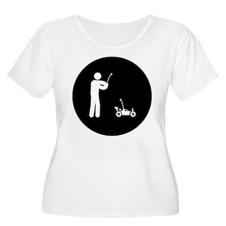 RC Car Women's Plus Size Scoop Neck T-Shirt