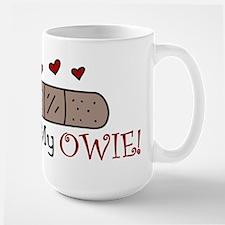 Kiss My Owie Ceramic Mugs