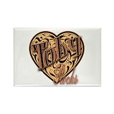 Toby Rocks Rectangle Magnet