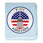 F-111 Aardvark baby blanket