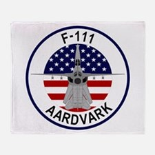 F-111 Aardvark Throw Blanket