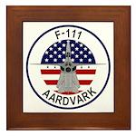 F-111 Aardvark Framed Tile