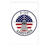 F-111 Aardvark Postcards (Package of 8)