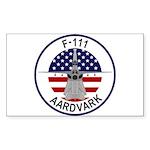 F-111 Aardvark Sticker (Rectangle 10 pk)