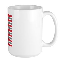Patriotic USA Drumstick Flag Drum Mug