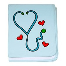 Stethoscope baby blanket
