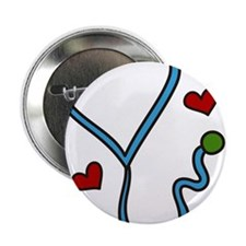"Stethoscope 2.25"" Button"