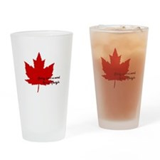 #canadianlife Drinking Glass