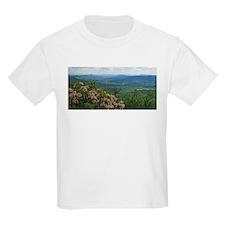 Pennsylvania Mountain Laurel Scene T-Shirt