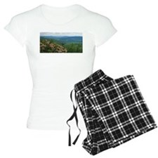 Pennsylvania Mountain Laurel Scene pajamas