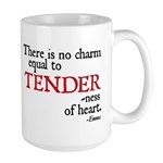 Jane Austen Tenderness Large Mug