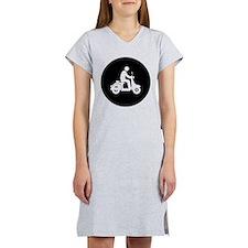 Scooter Rider Women's Nightshirt