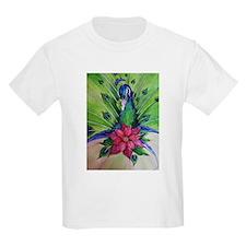 Peacock Christmas T-Shirt